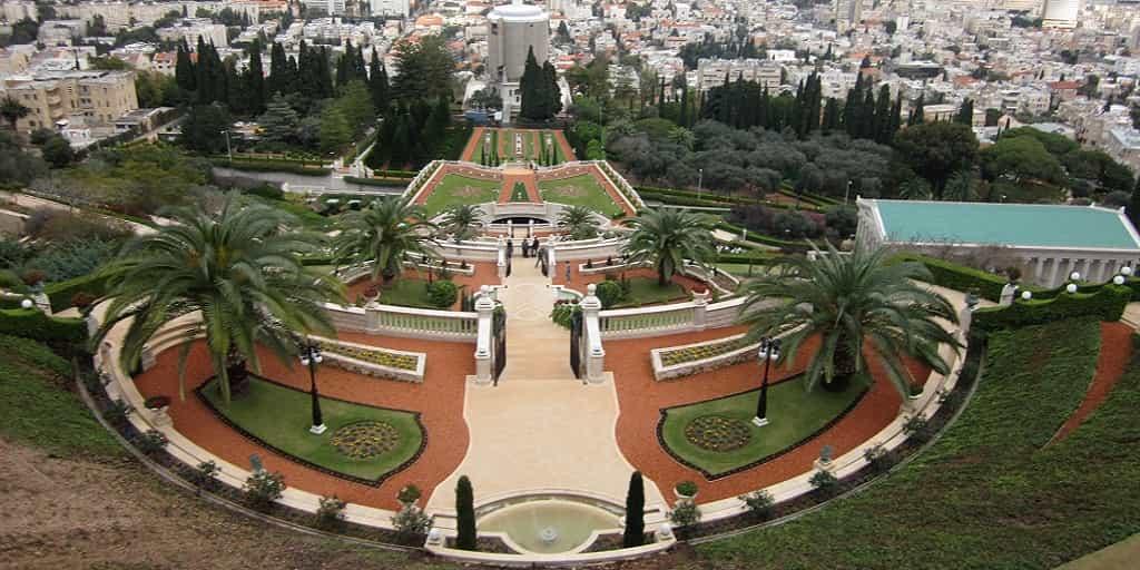 Bahai-Gardens.2 Haifa Day Trip