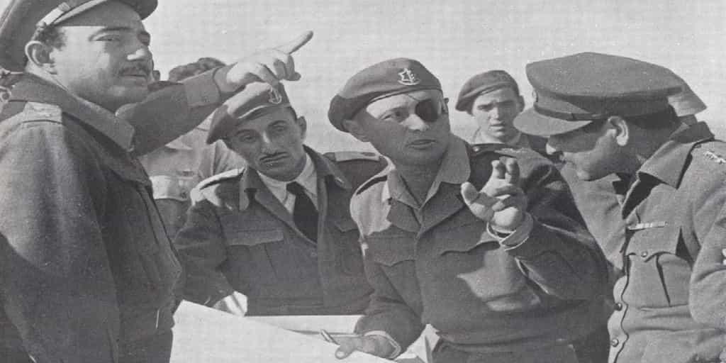 Moshe-Dayan 50 Years Since the Six Day War