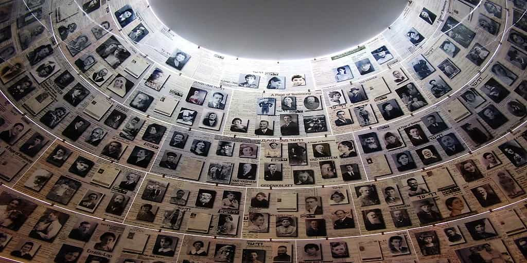 hall_of_names_in_yad_vashem What was the Holocaust?