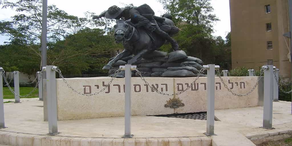 ANZAC-memorial-in-Ber-Sheva 100 Anniversary of the ANZAC Victory Over Be'er Sheva
